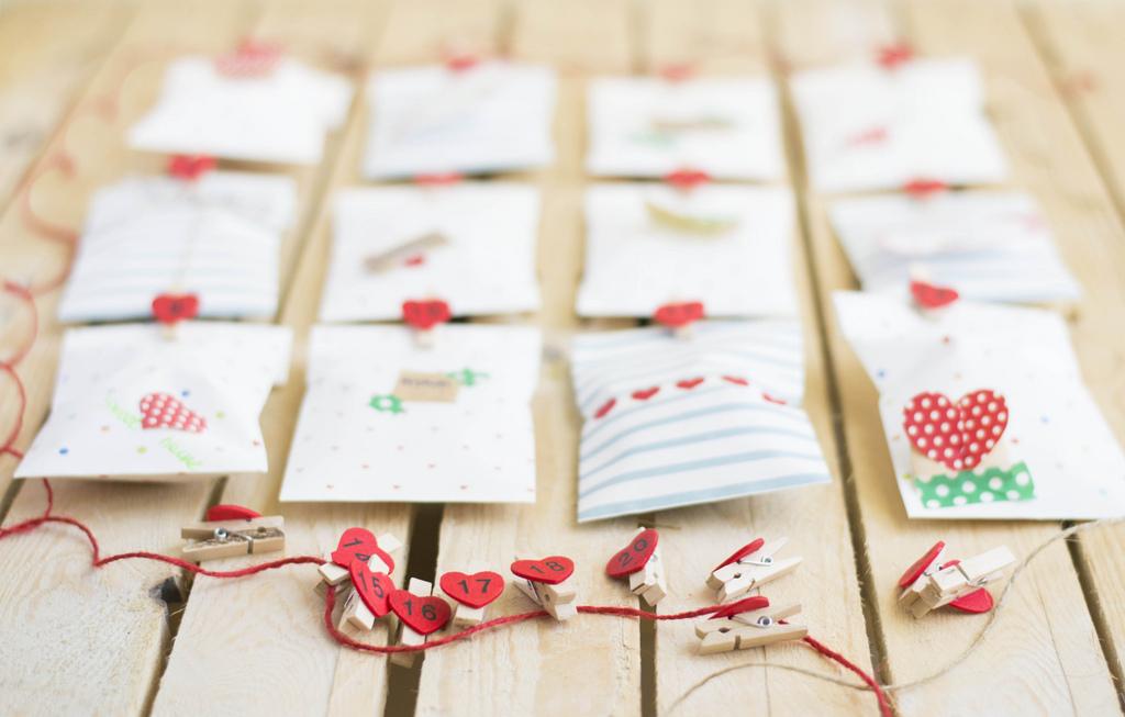 Un calendario con sorpresas sorpresas para tu pareja - Que hacer para sorprender a tu pareja ...