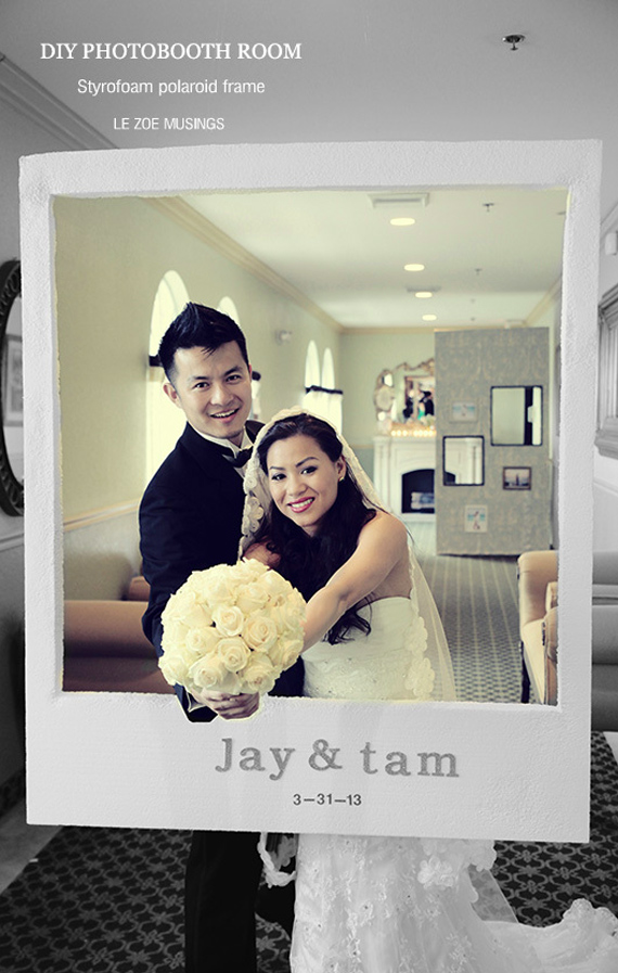 Diy photobooth polaroid para boda sorpresas para tu pareja photobooth para boda solutioingenieria Choice Image
